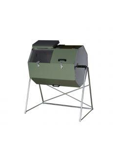 Joraform 'Little Pig' Rotational Composter - 125L