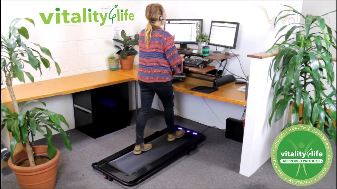 WalkSlim Personal Walking Treadmill - WalkStation - Walk at your desk!